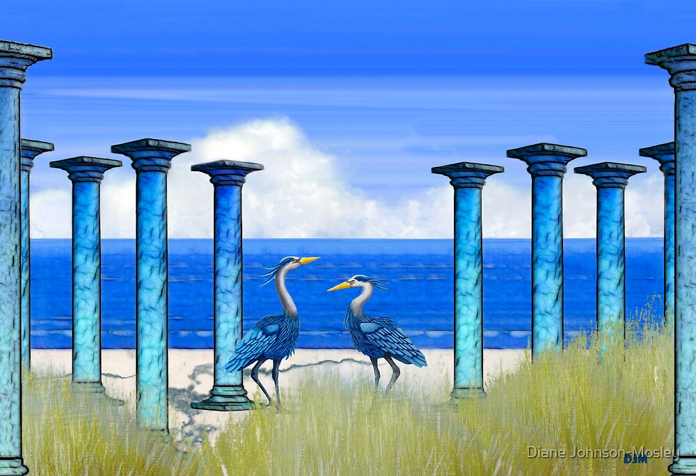 By The Sea by Diane Johnson-Mosley