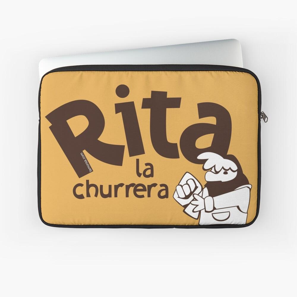 Rita la churrera Funda para portátil