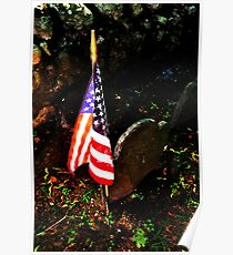 Sleepy Hollow Cemetery Poster
