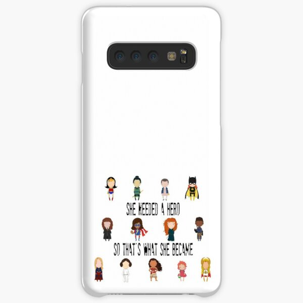 So that's what she became Samsung Galaxy Snap Case