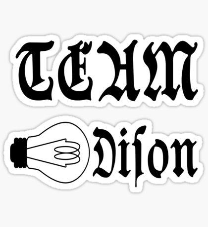 Team Edison Sticker