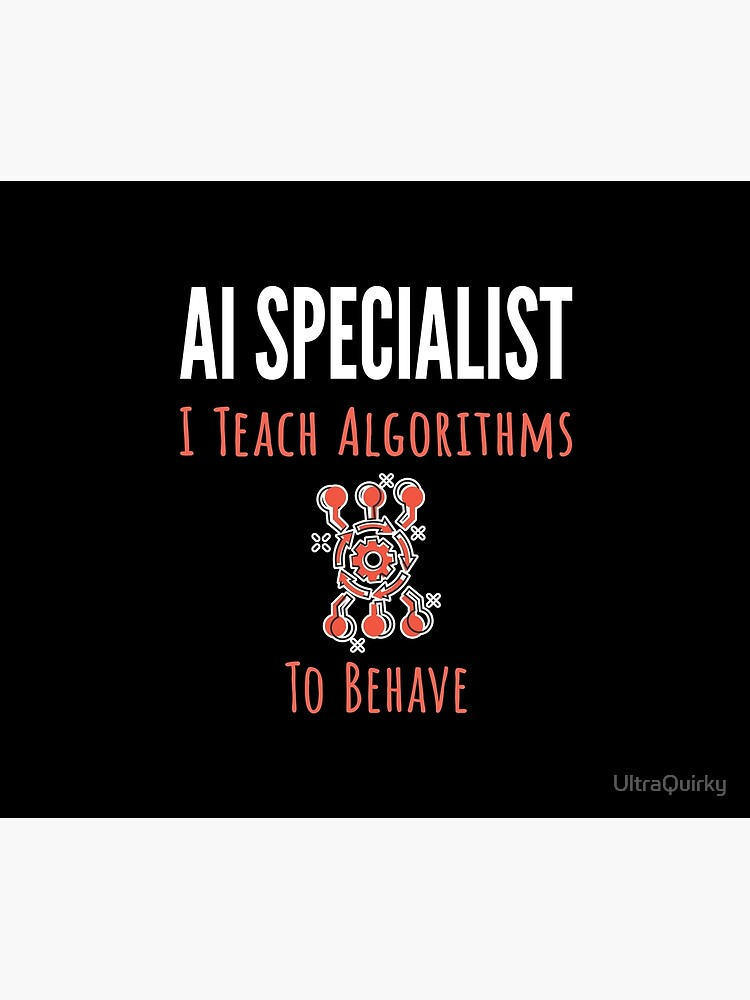 AI Specialist. by UltraQuirky