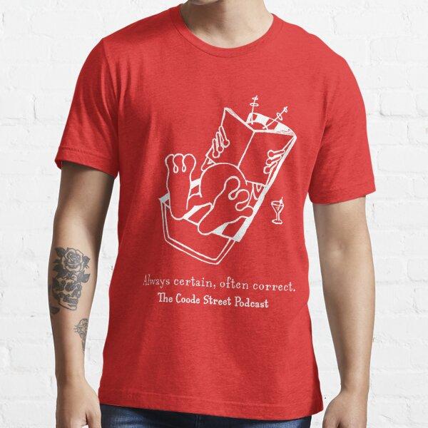 Always certain, often correct (white) Essential T-Shirt