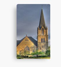 The Church on Court Street - Cortland, NY Canvas Print