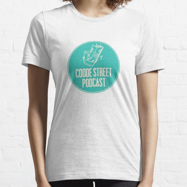 Coode Street Podcast (teal) Essential T-Shirt