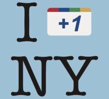 I +1 NY - Google Parody T-Shirt