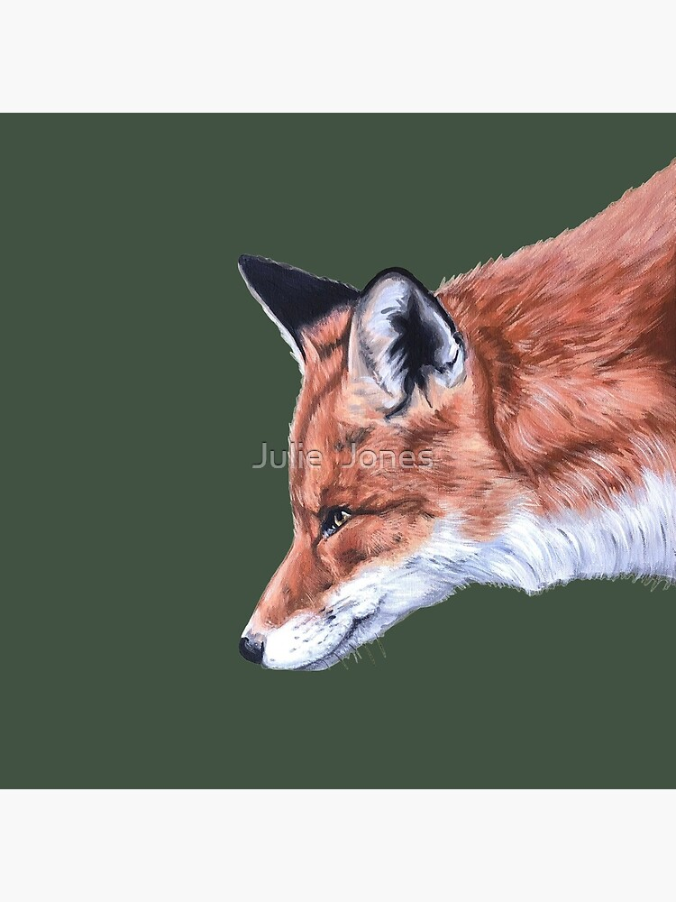 Fox no.2  by Julie Jones by JJmurals