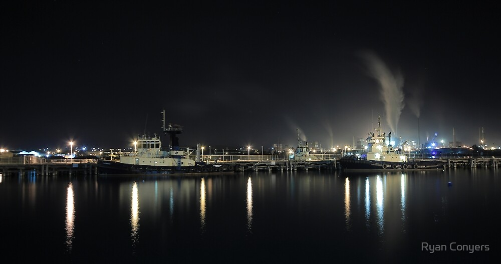 Port Kembla Harbour by Ryan Conyers
