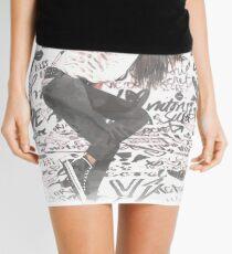 Graffiti Girl  Mini Skirt