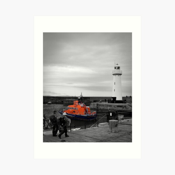 Donaghadee Lighthouse Art Print