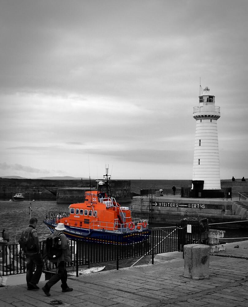 Donaghadee Lighthouse by Chris Cardwell