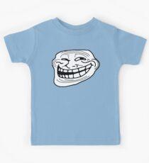 Trollface Kids Tee