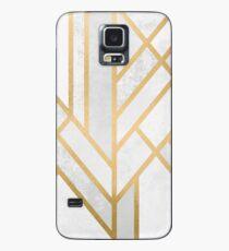 Art Deco Geometrie 2 Hülle & Klebefolie für Samsung Galaxy