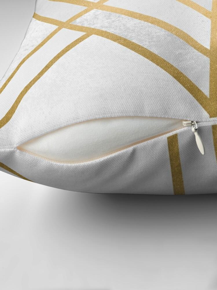 Alternate view of Art Deco Geometry 2 Throw Pillow