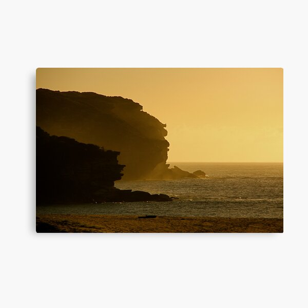 Wattamolla Headland Canvas Print