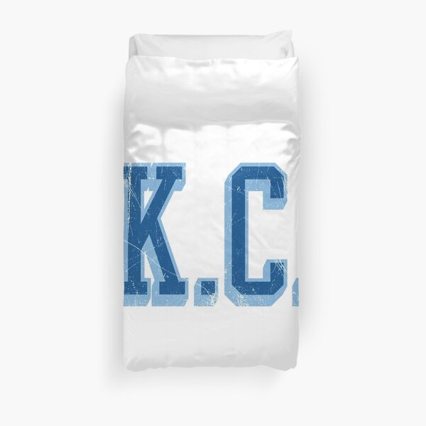 KC - block abv - 10 Duvet Cover