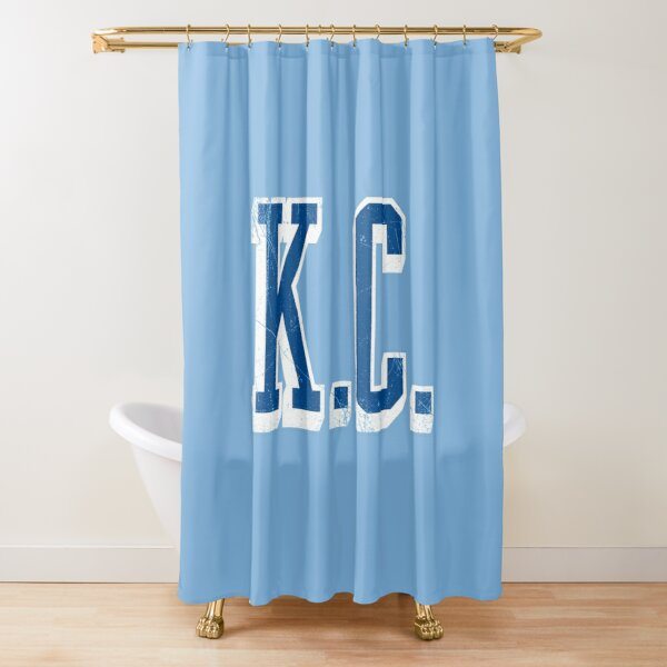KC - block abv - 12 Shower Curtain