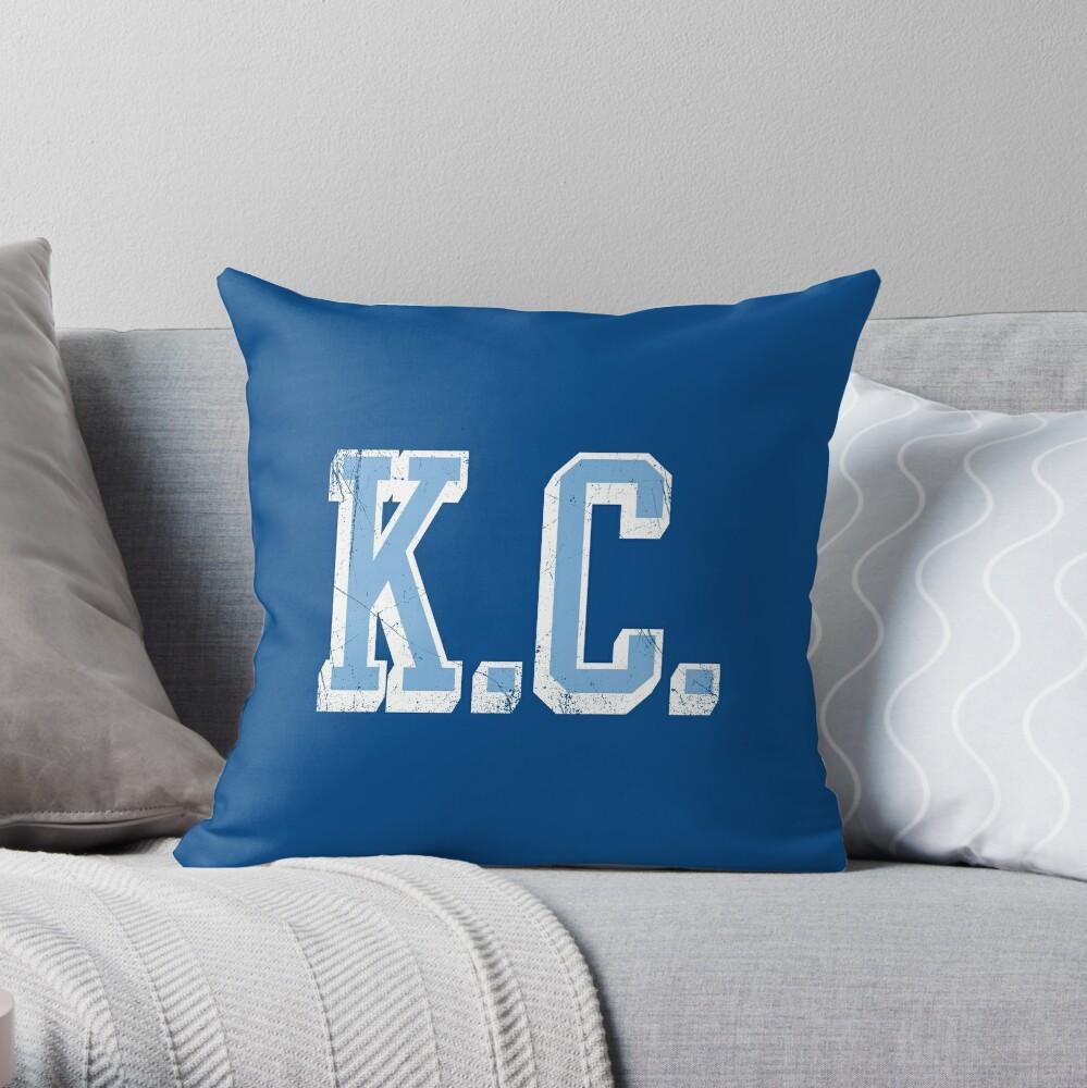 KC - block abv - 14 Throw Pillow