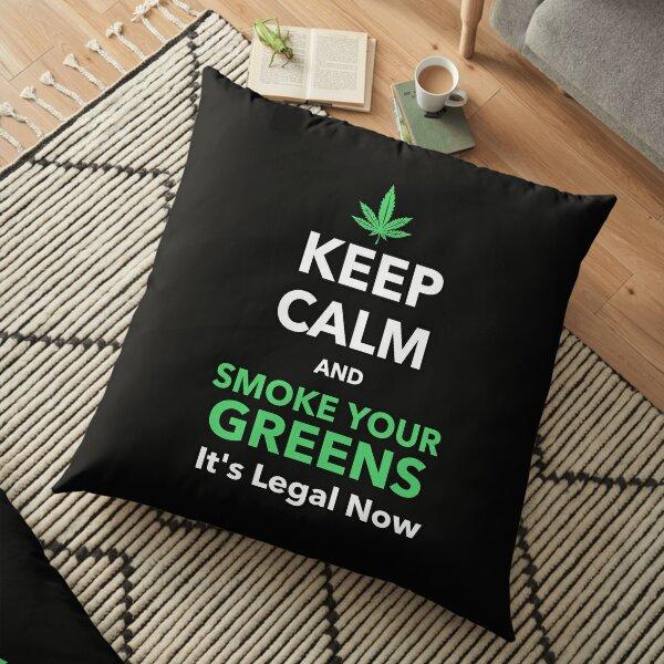 Marijuana Floor Pillow