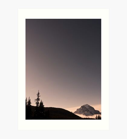 Beauty in the Rockies Art Print