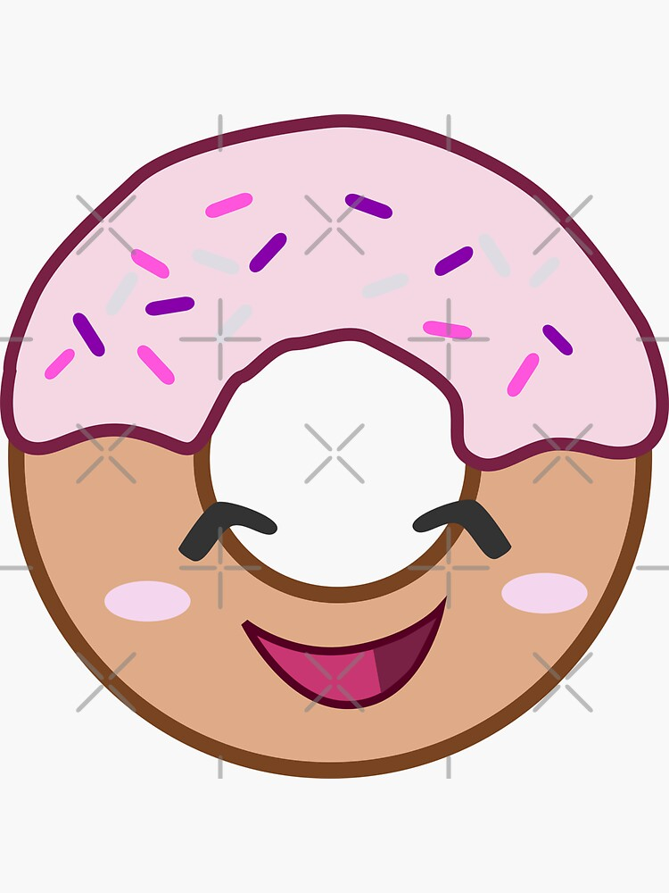 Kawaii Donut by ninjainatux