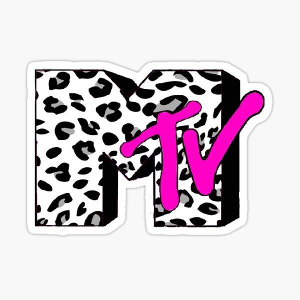 Cheetah print MTV Pegatina