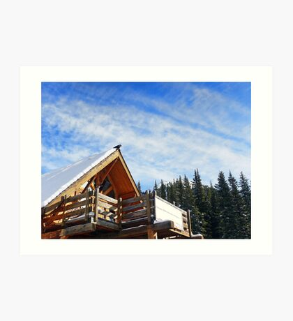 Beautiful Day in the Rockies Art Print