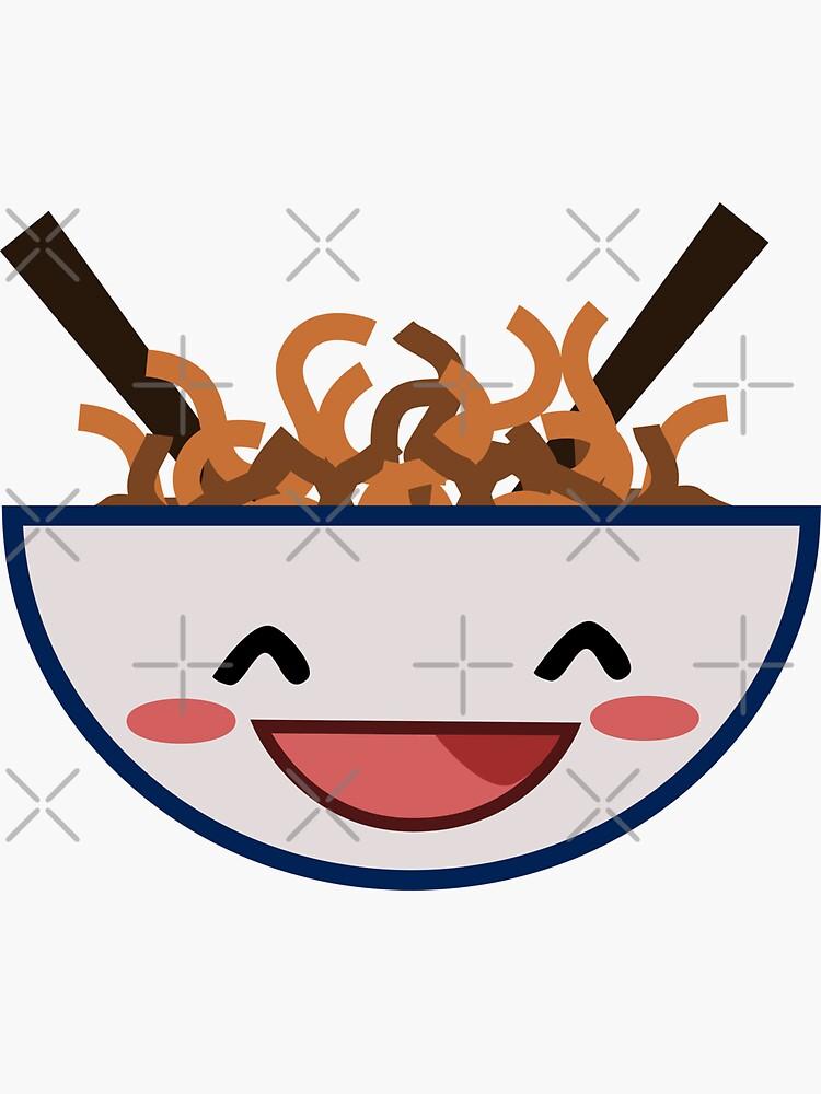 Kawaii Noodles by ninjainatux