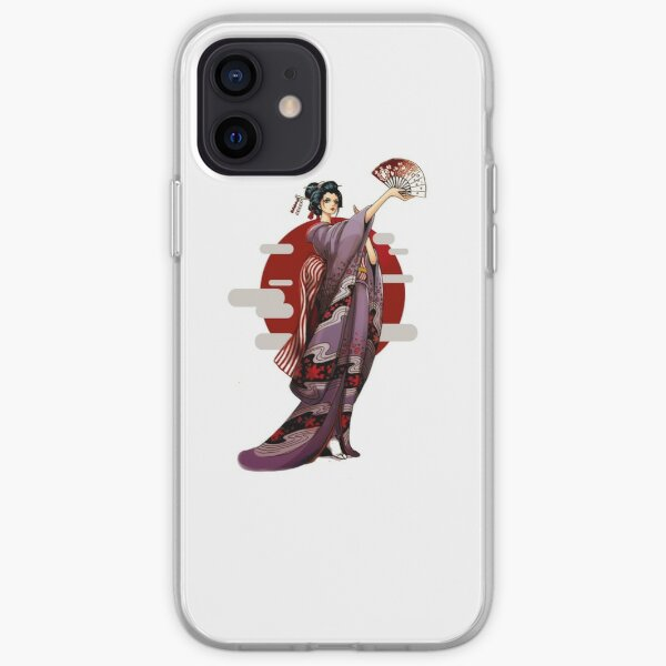 One Piece Robin Wano Coque souple iPhone