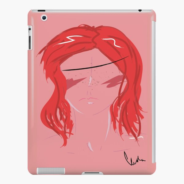 Red Hair Girl iPad Snap Case