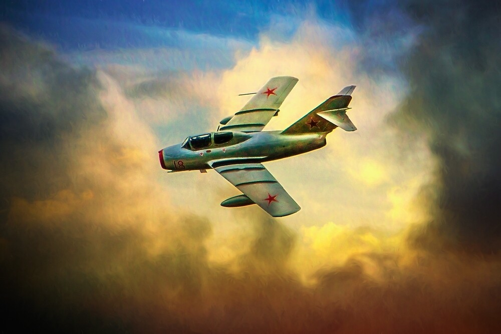 Mikoyan-gurevich Mig-15uti by Chris Lord