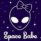 Space Babe by maggiemaemary