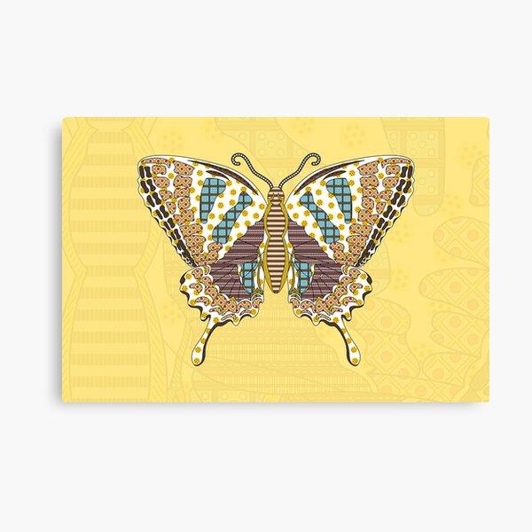 Aztec Swallowtail Canvas Print