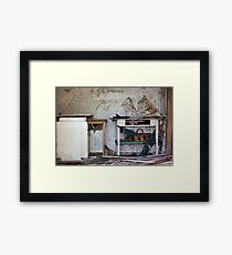 """The house that time forgot"" Framed Print"