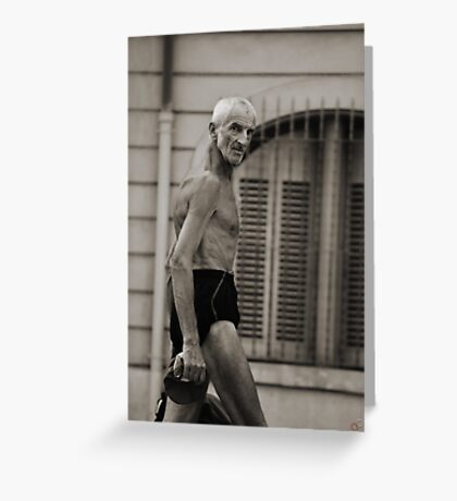Yeah.. I'm ripped... you know it! Greeting Card