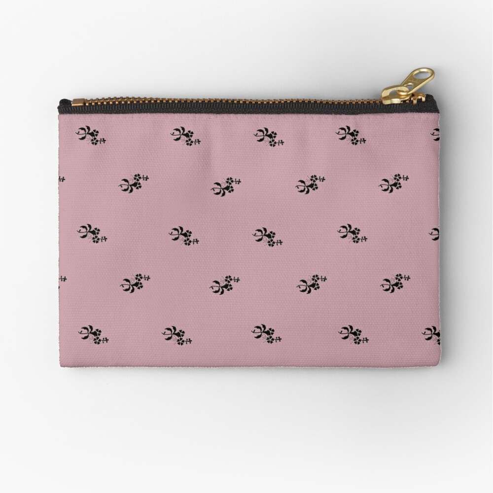 Scattered flowers trend color 2020 Zipper Pouch
