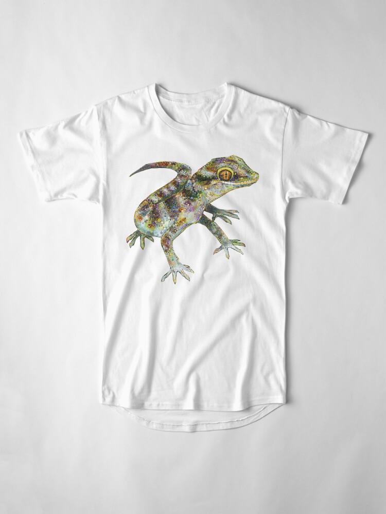 Alternate view of Bynoe's Gecko Painting - 2012 Long T-Shirt