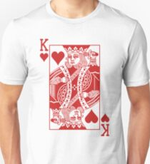 King of Hearts - Red T-Shirt