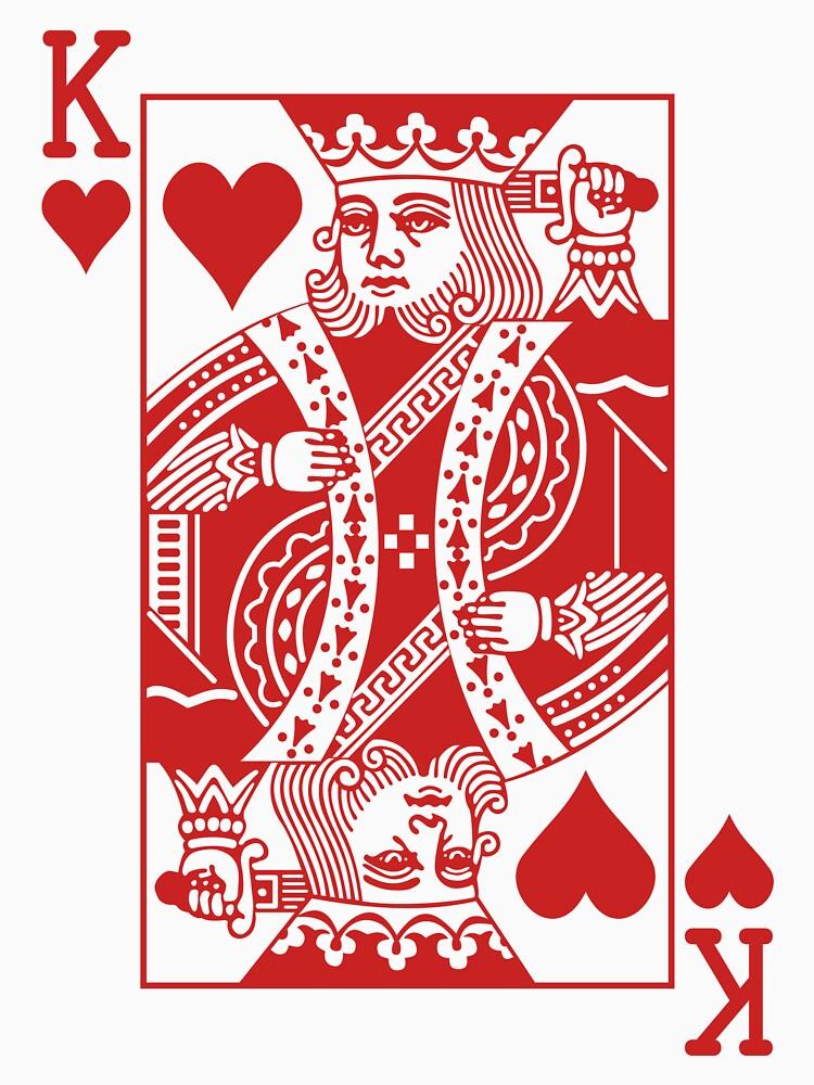 King of Hearts - Red by joshdbb