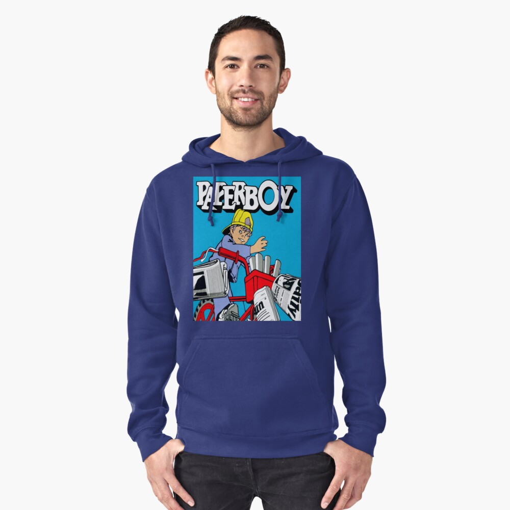 paperboy Pullover Hoodie Front