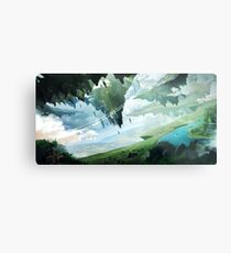 Floating Islands Metal Print