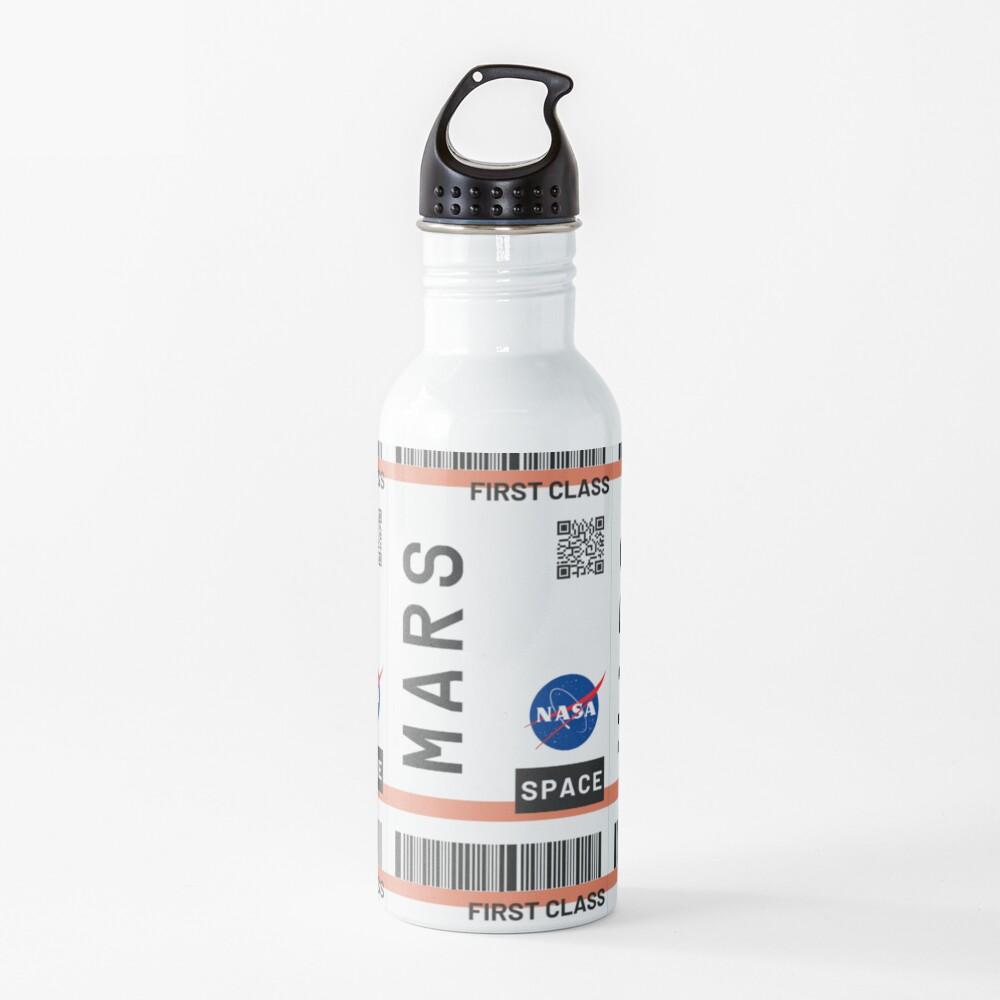 Bestseller - Mars Flugticket NASA Trinkflasche