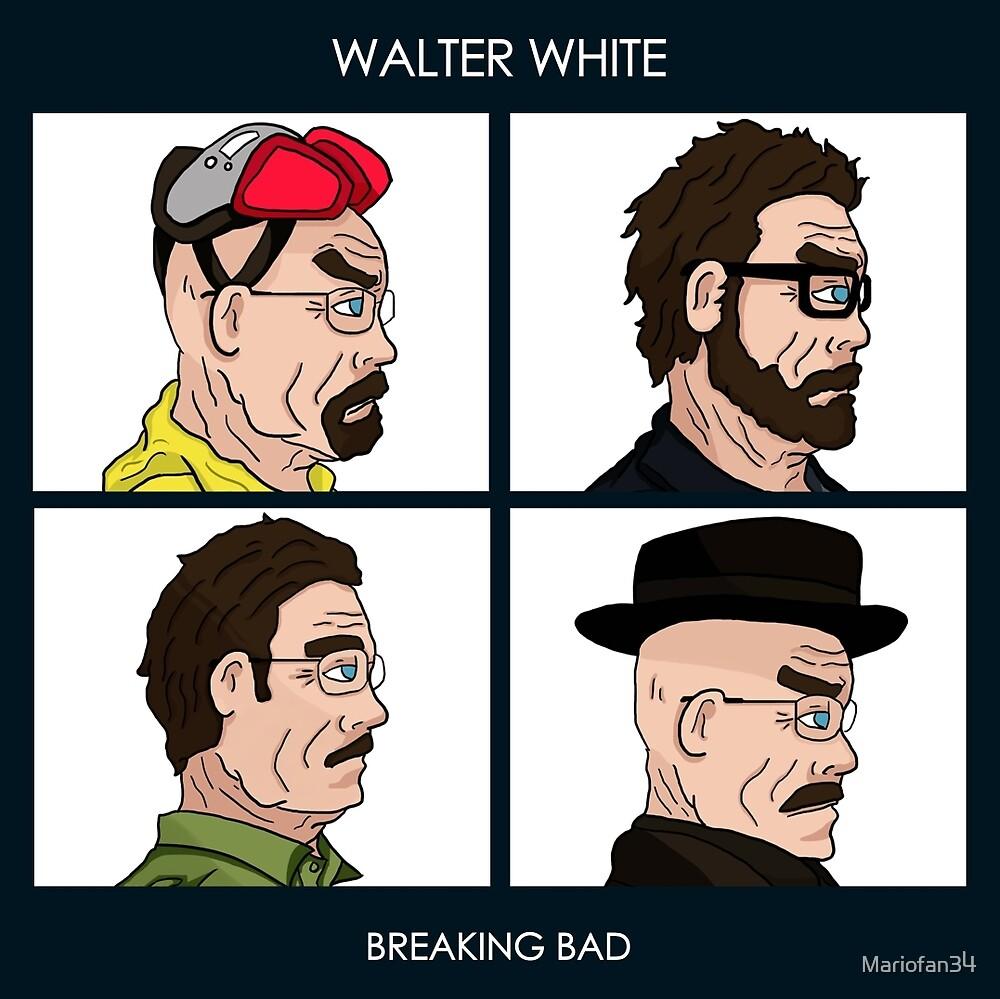 Walter White - Breaking Bad by Mariofan34