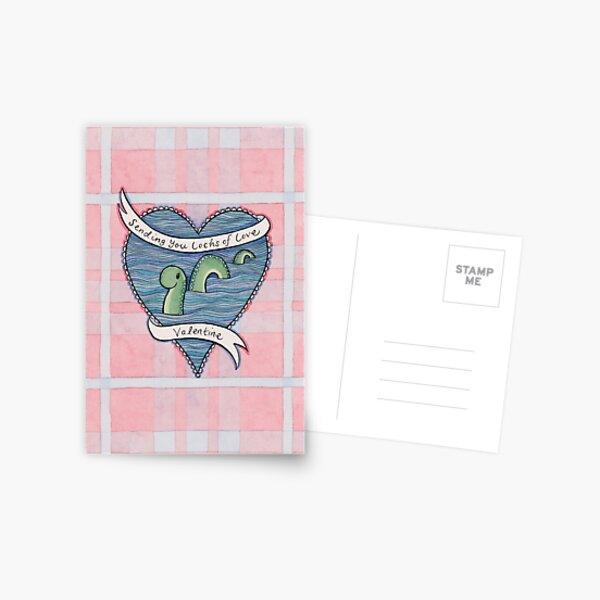 Nessie Valentine Postcard