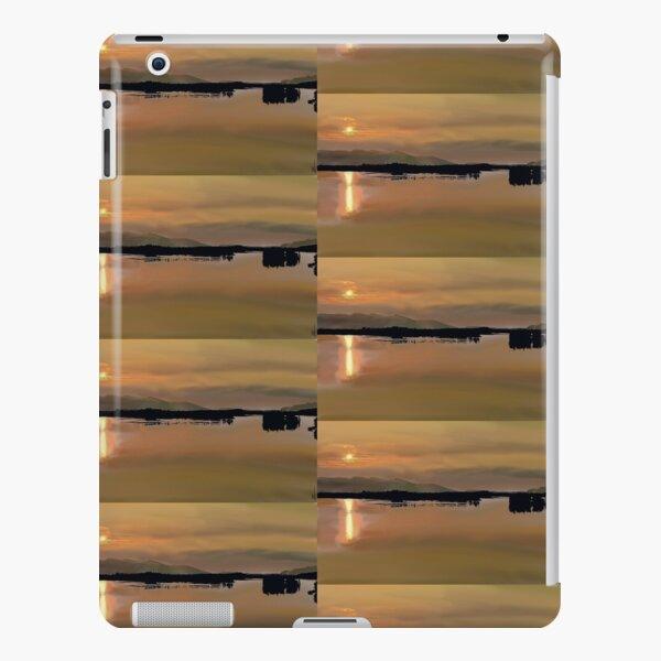 Alaskan Sunset drawing iPad Snap Case