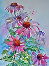 Echinacea!  Bless you! by Ann Mortimer