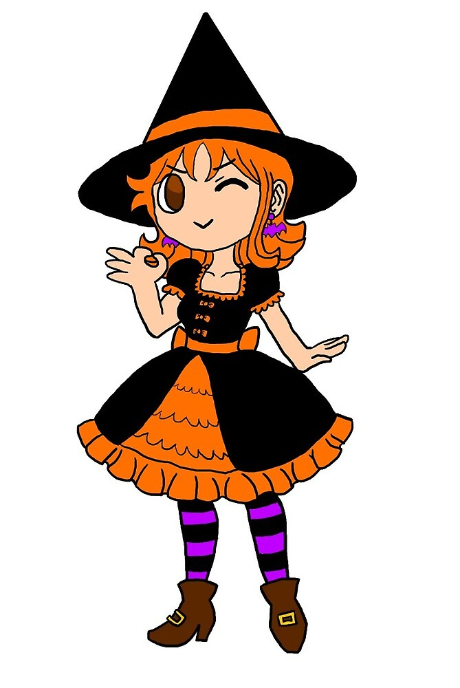 Witch Nami by usopping