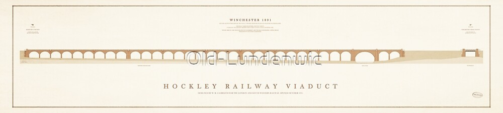 Hockley Railway Viaduct by Old-Lundenwic
