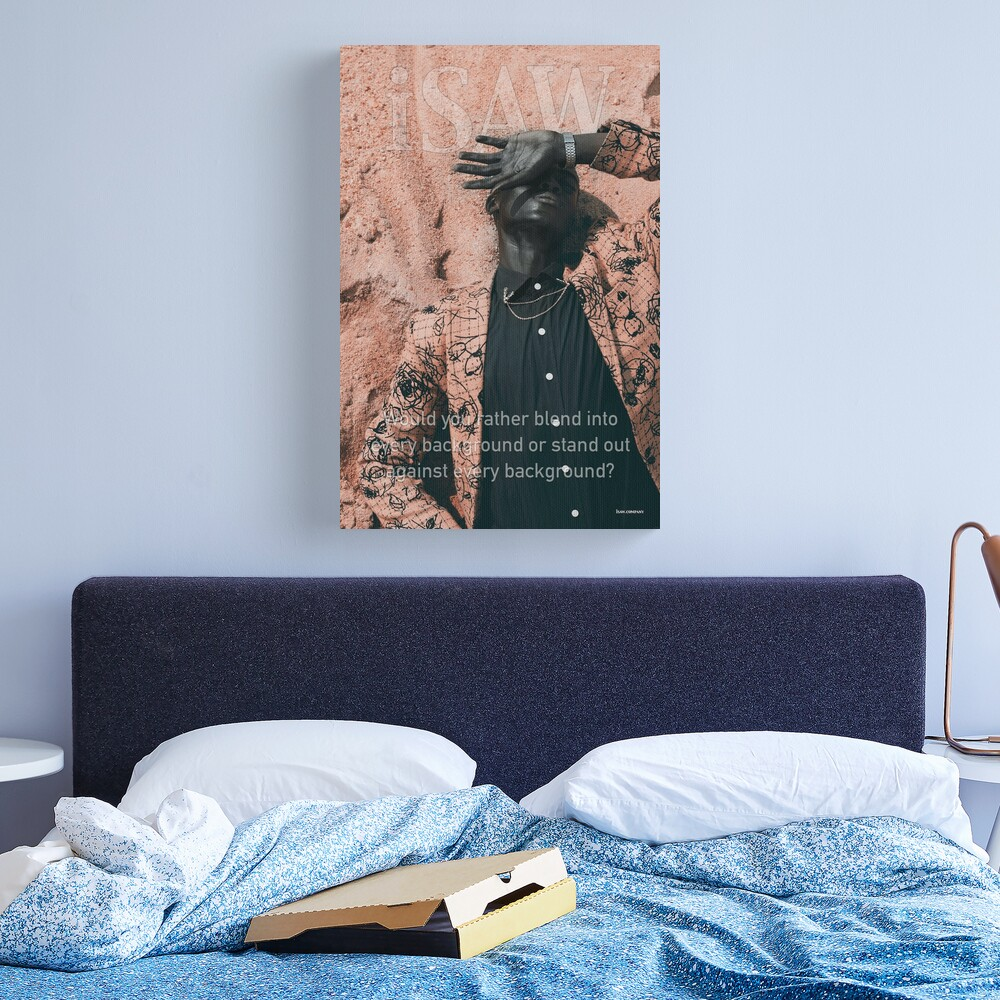 Blend In or Stand Out Canvas Print