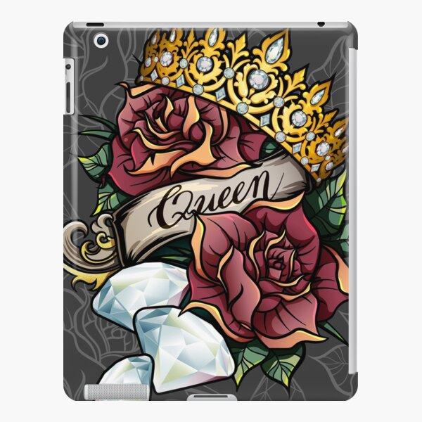 Queen of Diamonds digital vector design iPad Snap Case